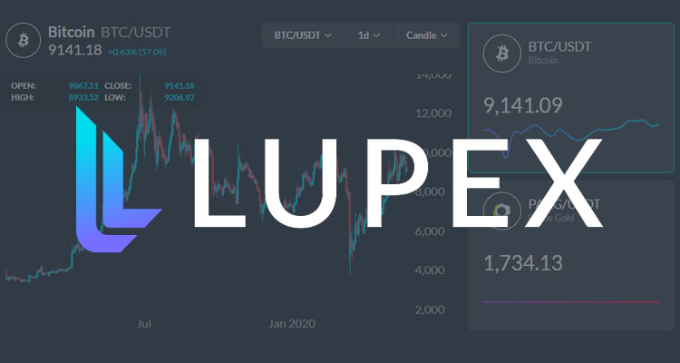 Initiation au trading de cryptomonnaies avec Lupex